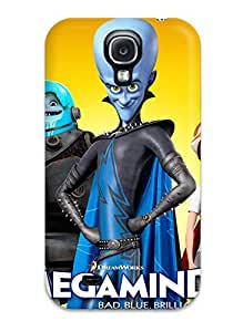 Irene R. Maestas's Shop 7898992K96769791 Galaxy S4 Case Cover - Slim Fit Tpu Protector Shock Absorbent Case (bad Blue Megamind)