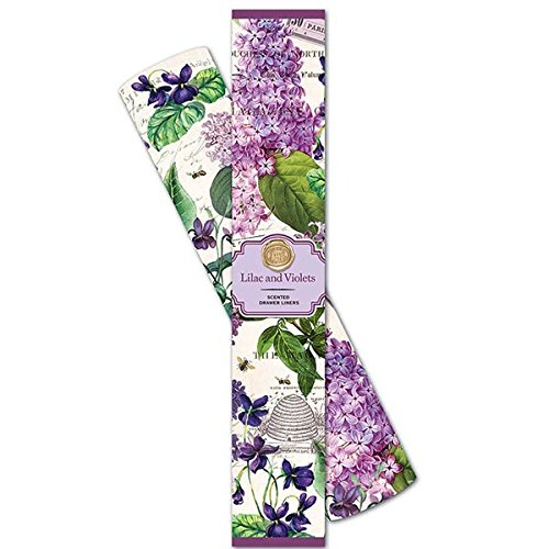 Michel Design Works Scented Drawer Liners, Lilac and Violets, Lilac & Violets ()