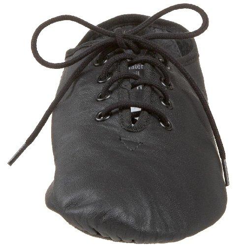 Leos Unisex 7038 Protege Split Sole Jazz Shoe Black lUso0d
