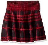 #9: storeofbaby Little Big Girls High Waist Knitted Flared Pleated Skater Skirt Casual
