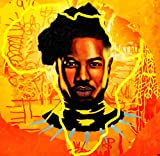 Erik Killmonger from Black Panther Marvel comics art on canvas