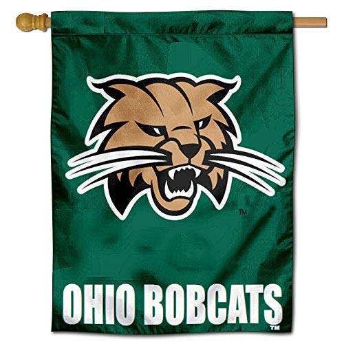 College Flags and Banners Co. Ohio University Bobcats House Flag - Flag House University Banner