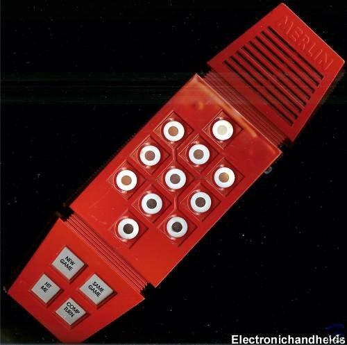 1978 Parker Brothers Merlin Handheld Game (Merlin Electronic)