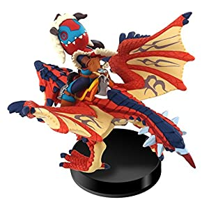 amiibo One-Eyed Rathalos and Rider (Male) - Moster Hunter Stories from Nintendo