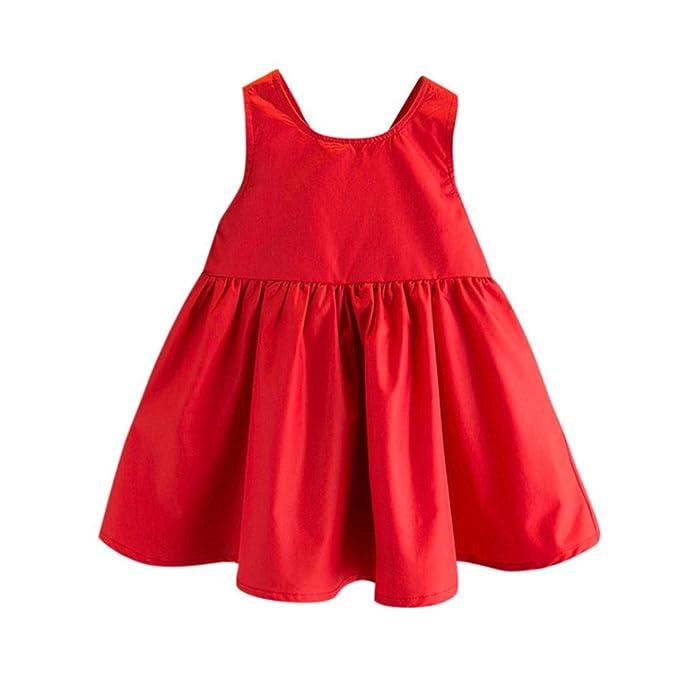 OHQ Toddler Kids Baby Girls Outfit Clothes Bowknot Party Party Princess Dress vestidos niñas lentejuelas vestidos