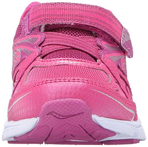 Saucony Girls Baby Ride Sneaker (Toddler/Little Kid) Pink/Berry