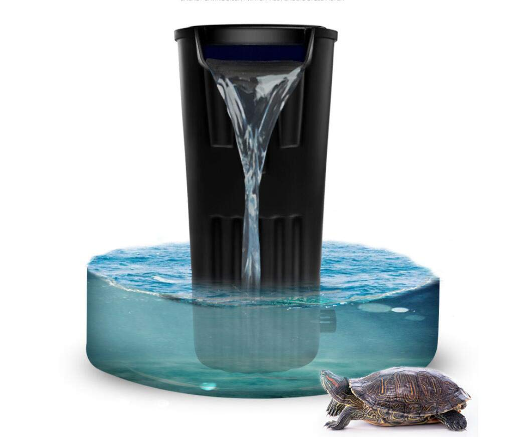 LONDAFISH Turtle Filter Water Submersible Filter for Turtle Tank/Aquarium 600L/H Filtration Low Water Level Filter by LONDAFISH