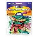 BAZIC Mini Colored Clothes Pin (50/Pack)