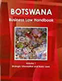 Botswana Business Law Handbook, IBP USA, 1438769458
