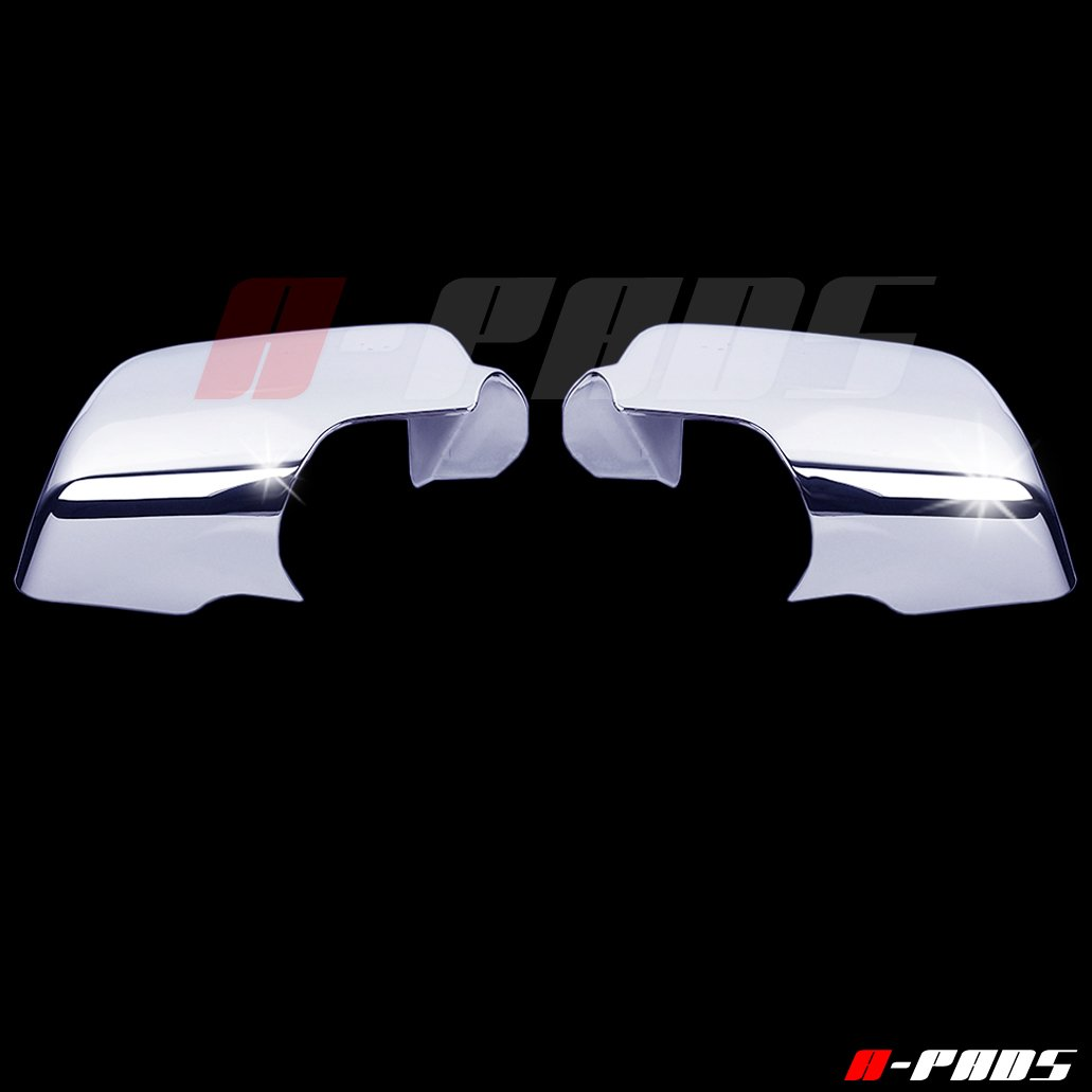Ranger 2006-2011 Sport TRAC 07-10 A-PADS Chrome Mirror Covers for Ford Explorer 2006-2010 Mercury Mountaineer 06-2009 Full Chromed Mirrors Pair