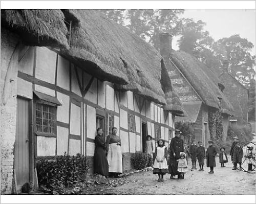 10x8 Print of Ramsbury Wiltshire BB97 11952 (11676996)