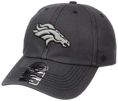 NFL Denver Broncos Sachem Franchise Fitted Hat, X-Large, Charcoal (Denver University Hat)