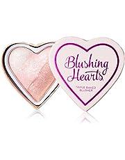 Makeup Revolution Londen I Love Makeup Blushing Hearts Potrôljny r¯lz do policzkôlw 10g - Iced Hearts