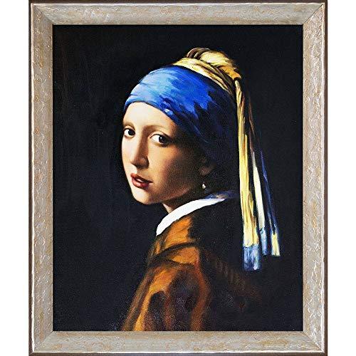 La Pastiche Girl with a Pearl Earring Minature Art, 11