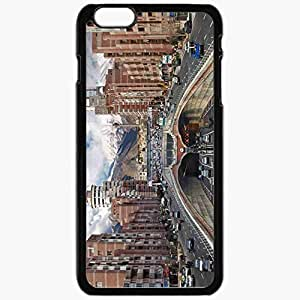 Unique Design Fashion Protective Back Cover For iPhone 6 Plus Case Slim (5.5 inch) Iran Tehran Road Building Black hjbrhga1544