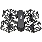 Owill GTENG T908W Assembly Blocks WIFI FPV 0.3MP HD Camera Aititude Mode RC Quadcopter/Small Size Helicopter (Black)