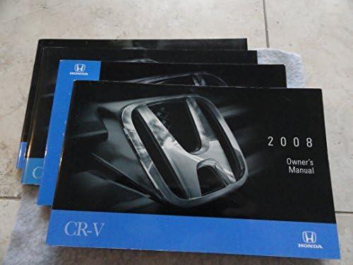 2008 honda cr v owners manual honda amazon com books rh amazon com 2018 honda owners manual 2008 honda crv owners manual