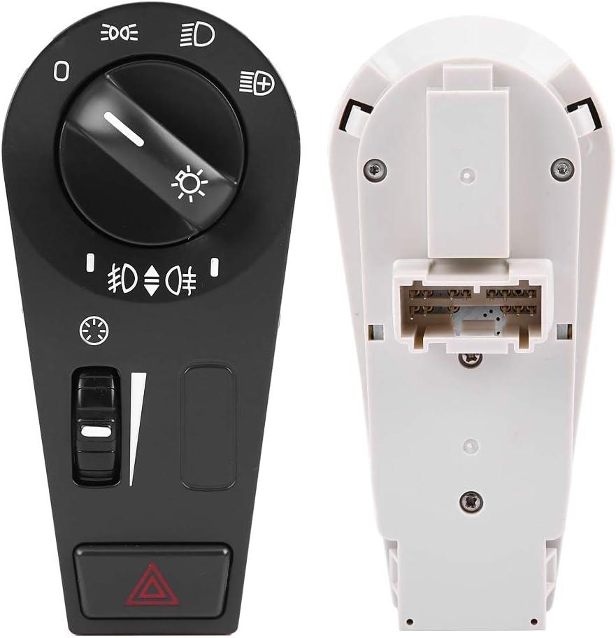 Headlight Switch Akozon Car Head Lamp Hazard Warning Light Switch Button for Truck FH12 FM VNL 20942844 20466302 20466306 20953569