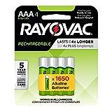 Rayovac LD724-4OP GEN Precharged NiMH AAA Card Batteries, 4-Pack