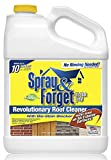 Spray & Forget - SF1G-J - Revolutionary Roof Cleaner Concentrate - Best Roof Cleaner, Spray & Forget mold remover, moss remover, mildew remover and algae remover - 1 Gallon Size - One shipping unit