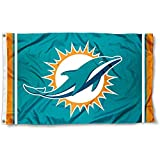Miami Dolphins Large NFL 3x5 Flag