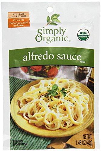 Simply Organic Alfredo Sauce Mix 12 Packets 1 48 oz 42 g (Simply Organic Alfredo)