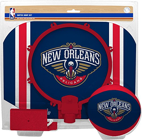 fan products of NBA New Orleans Pelicans Slam Dunk Softee Hoop Set