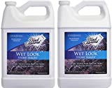 Black Diamond Stoneworks Wet Look Natural Stone Sealer Provides Durable Gloss and Protection to: Slate, Concrete, Brick, Sandstone, Driveways, Garage Floors. Interior or Exterior. 2-Gallon