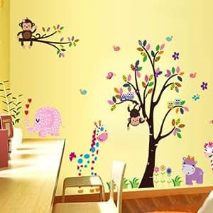 Yesurprise vinilo decorativo vinilos infantiles dormitorio - Vinilos infantiles pared gotele ...