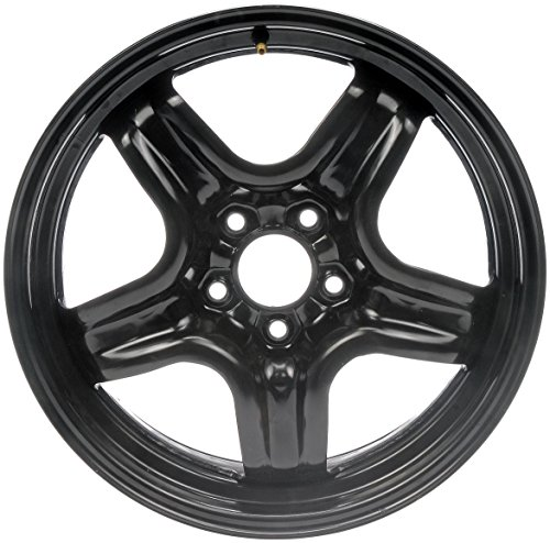 Dorman 939-101 Black Steel Road Wheel 17x7