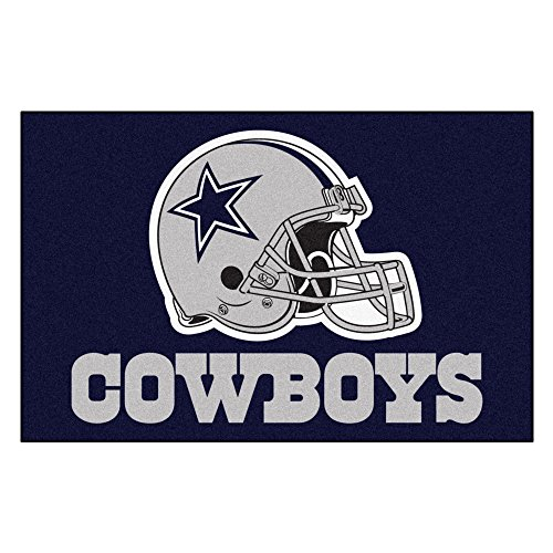 FANMATS NFL Dallas Cowboys Nylon Face Starter Rug ()