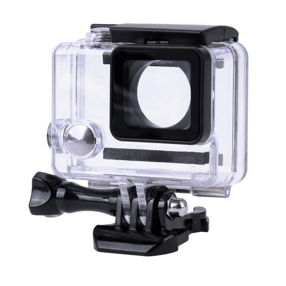Gopro Hero 3 Plus 防水ケース 交換用水中ケース 保護用 Rotective Dive Housing 透明 Go Pro Hero 4 3+ 3 アクションカメラ用 - 最大45m(147フィート)   B07JHL6RV1