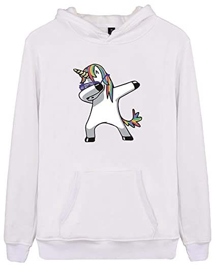 Amazon.com: Imilan Womens Active Hoodie Unicorn Pullover Sweatshirts Rainbow Coat: Clothing