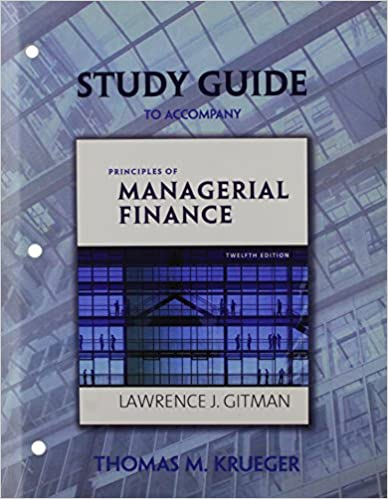 Study guide for principles of managerial finance lawrence j gitman study guide for principles of managerial finance 12th edition fandeluxe Images