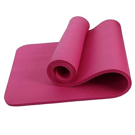 Amazon.com: Anti-Tear Non Slip Yoga Mat Eco Friendly NBR ...