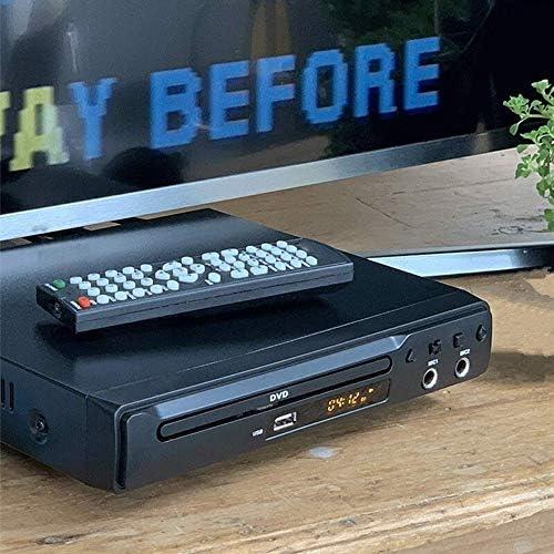 ZHZH-JP DVDプレーヤーリージョンフリーHDMI RCAのSCART USB DVDプレーヤー二つのMICポートマルチ言語のLED DVDプレーヤー