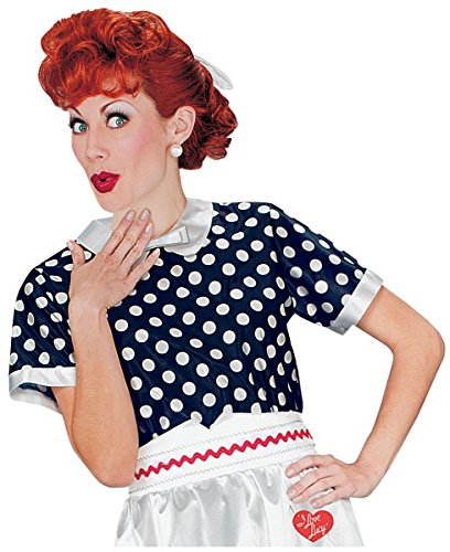 I Love Lucy Costume Wig (I Love Lucy Wig Costume Accessory)