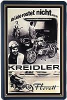 Blechschild Motorrad Kreidler 20 x 30cm Reklame Retro Blech 447