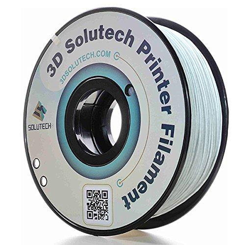 3D Solutech Marble 3D Printer PLA Filament 1.75MM Filament, Dimensional Accuracy +/- 0.03 mm, 2.2 LBS (1.0KG) ()