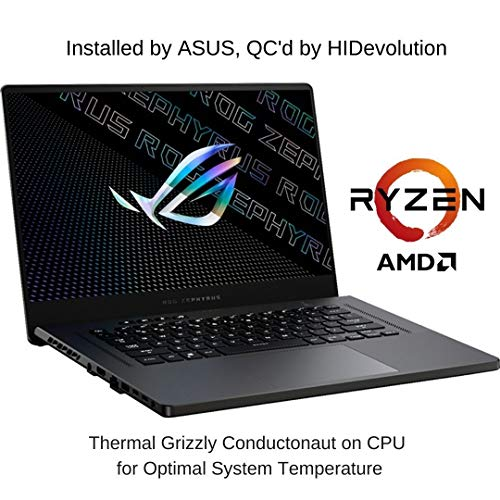 "[2021] HIDevolution ASUS ROG Zephyrus G15 GA503QR 15.6"" QHD 165Hz, 3.0 GHz AMD Ryzen 9 5900HS, RTX 3070, 24 GB 3200MHz RAM, 1 TB PCIe SSD, Eclipse Gray"