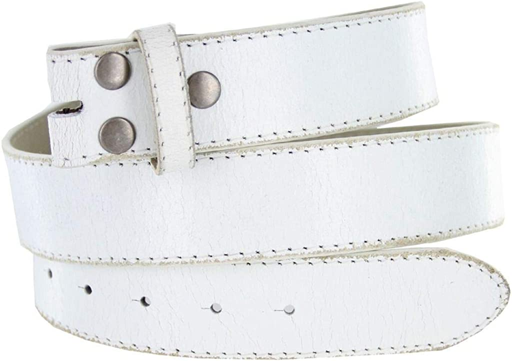Classic Vintage Casual Jean Replacement Leather Belt Strap 1-1//2 Wide
