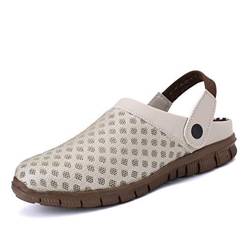 Zapatos Mujeres Respirables Zapatos de de Las Zapatos los Playa de de Salvajes Hasag de Pares A3 de de la Verano Zapatillas Forman los del Malla los los Beige Deportes Deporte qHwX55SxO