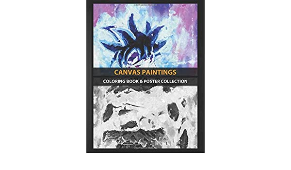 Coloring Book & Poster Collection: Canvas Paintings Goku Dragonball Z Paintings Anime & Manga: Amazon.es: Coloring, CanvasUWu, Coloring, CanvasUWu: Libros en idiomas extranjeros