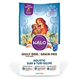 Halo Grain Free Natural Dry Dog Food Surf & Turf Recipe 21 Pound Bag