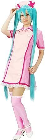 MILICA BOOKS Vocaloid Love Colored Ward Hatsune Miku Nurse Cosplay Costume