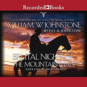 Brutal Night of the Mountain Man Audiobook