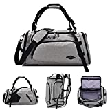 Businda Backpack Handbag, Waterproof Multipurpose Daypacks Sport Handbag for Travel Camping Hiking for Men Women