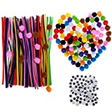 AwenSun 400 Pcs Crafting Kit including 200 Pipe