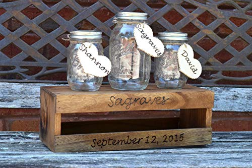 Rustic Wedding Unity Ceremony Set - Unity Sand Holder - Wedding Unity - Sand Ceremony - Sand Ceremony Set - Unity Sand Set - Unity Ceremony]()