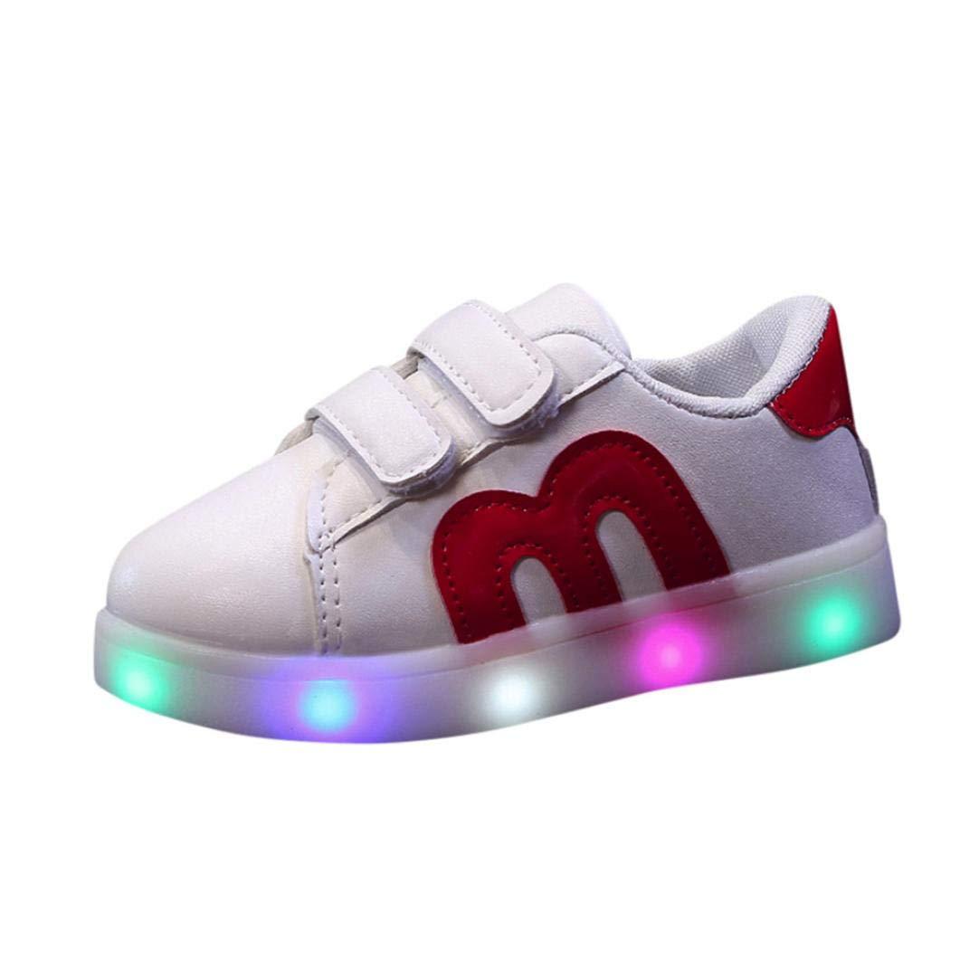 Scarpe Bambino Con Luci Led Scarpe Casual Sneakers Scarpe Ginnastica ... 51f4d481160